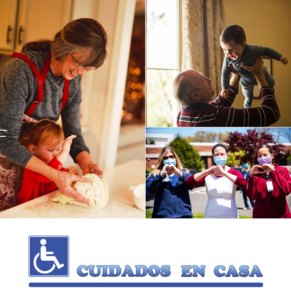 Cuidados a Mayores, Dependientes, Discapacitados, con Alzheimer