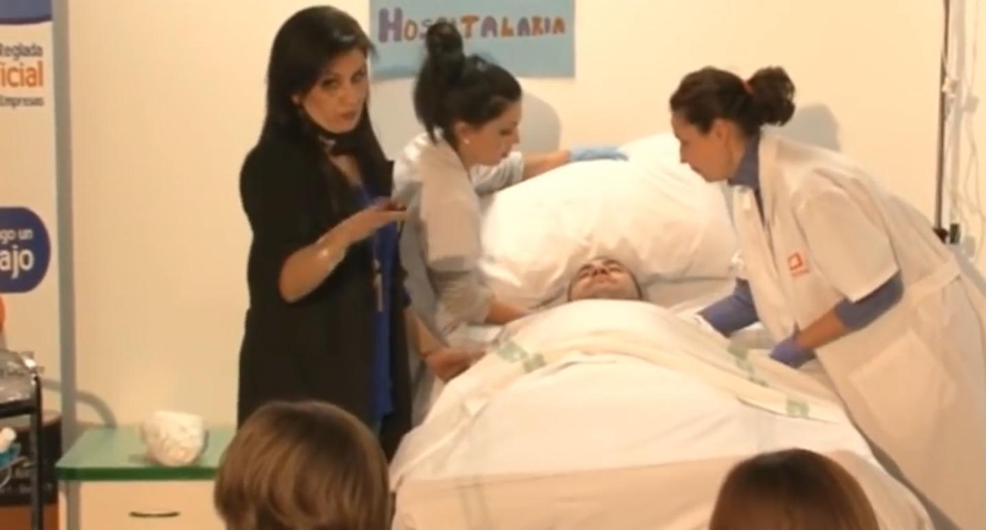 Taller de Aseo e Higiene del Paciente a Domicilio para Técnico de Cuidados Auxiliares de Enfermería