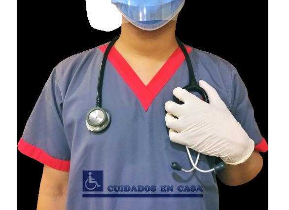 Enfermera Auxiliar para Casa Vivienda Domicilio Hogar