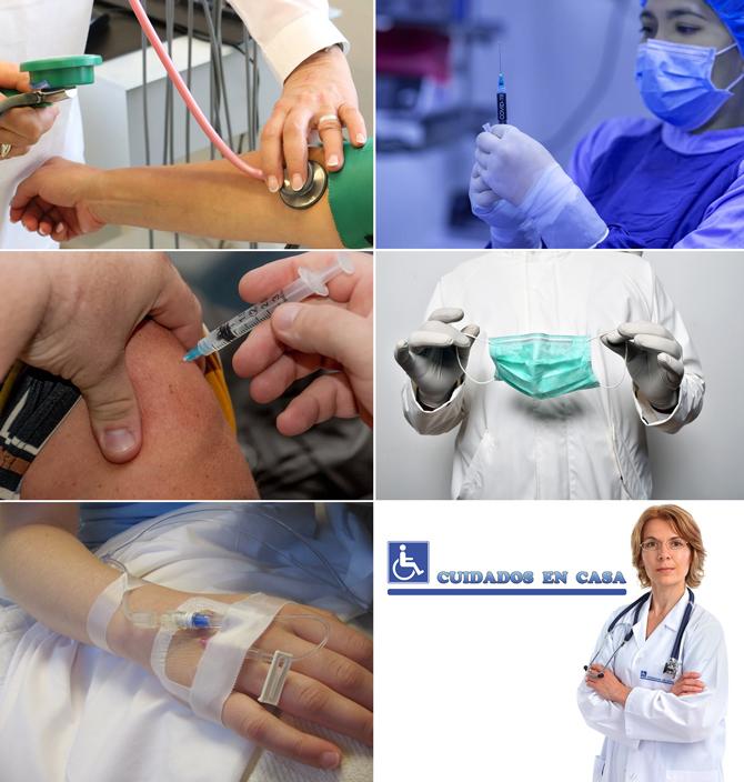 Enfermera o Persona para Cuidar a Mayores Enfermos