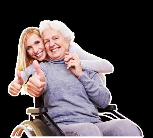 Cuidadores de personas mayores a domicilio