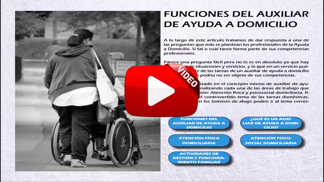 Funciones del Auxiliar de Ayuda a Domicilio – Todo SocioSanitario